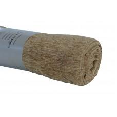 Ριχτάρι Σενίλ Πολυθρόνας Χειμερινό 009.035 Χρυσαφί-Μπεζ 170x170εκ