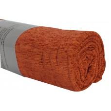 Ριχτάρι Σενίλ Πολυθρόνας Χειμερινό 009.035 Πορτοκαλί 170x170εκ