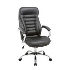 Καρέκλα Γραφείου - Πολυθρόνα Μαύρη Δερματίνη Βeal - ΑG2971-012 - Avant Garde