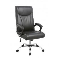 Καρέκλα Γραφείου - Πολυθρόνα Μαύρη Δερματίνη SΑ-111Α - ΑG2971-019 - Avant Garde