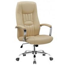 Καρέκλα Γραφείου - Πολυθρόνα Μπεζ Δερματίνη Classic - ΑG2971-030 - Avant Garde