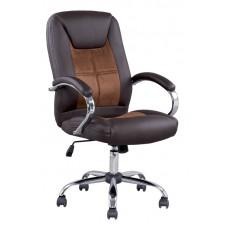 Καρέκλα Γραφείου - Πολυθρόνα Καφέ Δερματίνη Ρlanet - ΑG2971-027 - Avant Garde