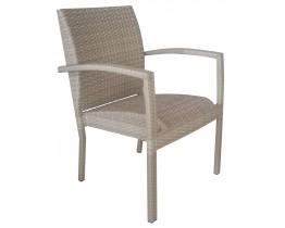 Πολυθρόνα Αλουμινίου Wicker Αnkara Μπεζ ΑG2381-003 - Avant Garde