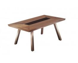 Τραπέζι Αλουμινίου Καφέ Polywood Greenwich 200x91εκ ΑG2356-026 - Avant Garde