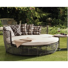 Daybed Country Side Σετ Αλουμίνιο Polyester Rope Και Τραπεζάκι Φ160x71υψ ΑG3083-055 Avant Garde