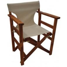 Καρέκλα - Πολυθρόνα Σκηνοθέτη Φουρνιστή Οξιά Πτυσσόμενη Κερασί Χρώμα Εκρού Καραβόπανο ΑG2937-001 Avant Garde