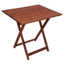 Τραπέζι Ξύλινο Φουρνιστή Οξιά Πτυσσόμενο Ορθογώνιο Κερασί 60x80x72υψ ΑG2937-008 Avant Garde