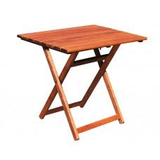 Τραπέζι Ξύλινο Φουρνιστή Οξιά Πτυσσόμενο Ορθογώνιο Κερασί 60x100x72υψ ΑG2937-008 Avant Garde