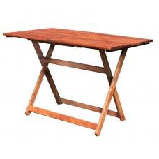 Τραπέζι Ξύλινο Φουρνιστή Οξιά Πτυσσόμενο Ορθογώνιο Κερασί 75x120x72υψ ΑG2937-008 Avant Garde