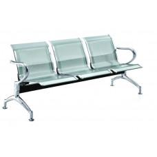 Καναπές Αναμονής Μεταλλικός Τριθέσιος S03 180x68x80υψ AG3119-011 Avant Garde