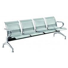 Καναπές Αναμονής Μεταλλικός Τετραθέσιος S04 238x68x80υψ AG3319-012 Avant Garde