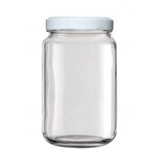 Βάζο Γυάλινο Μεταλλικό Καπάκι COLONNA 000270 580ml 8x8x14υψ