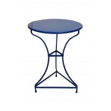 Tραπέζι Mεταλλικό Kαφενείου ΝΟ 18 OEM 00087 Φ60εκ - Μπλε
