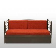 Καναπές Μεταλλικός 'Μαργαρίτα' Συρόμενος Και Κρεβάτι 90x190εκ