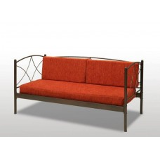 Καναπές Μεταλλικός 'Άνδρος' 90x190εκ