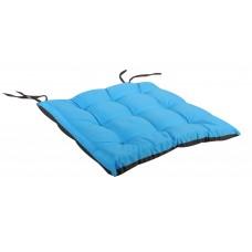 Μαξιλάρι Πόντα Τετράγωνο Δίχρωμο Καφέ-Μπλε 38x38x2,5εκ OEM ΚΖ7040-C3