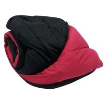 Πάπλωμα Διπλό Μαύρο - Κόκκινο Microfiber ΚΠ5033 200x240