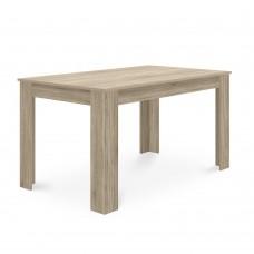 Τραπέζι Ξύλινο Sonoma Alpi Liberta 137x85x76υψ 02-0113