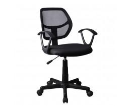 Καρέκλα Γραφείου Μαύρο Stripes Liberta 55x53x80/92υψ 25-0230
