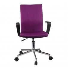 Καρέκλα Γραφείου Μωβ Bingo Liberta 55x48x94/104υψ 25-0377