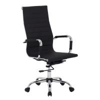 Καρέκλα - Πολυθρόνα Γραφείου Μαύρο Rex-p Liberta 54x63x106/116υψ 25-0173