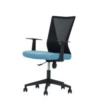 Καρέκλα Γραφείου Μαύρο-Γαλάζιο Ανοιχτό Vita Liberta 61x60x92/104υψ 25-0436