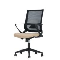 Καρέκλα Γραφείου Μαύρο-Μπεζ Cross Liberta 61x56x99/109υψ 25-0439