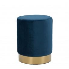 Σκαμπώ Gold Μπλε Liberta Φ38x47υψ 16-0322