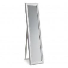 Καθρέφτης Επιδαπέδιος Ξύλινος Λευκός Maribo Glossy Liberta 51x4,5x171υψ 11-0079