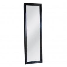 Καθρέφτης Επιδαπέδιος Ξύλινος Μαύρος Maribo Glossy Liberta 51x4,5x171υψ 11-0080