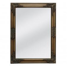Καθρέφτης Τοίχου Ξύλινος Χρυσό Αντικέ Classic Liberta 60x3x80υψ 11-0119
