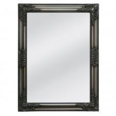 Καθρέφτης Τοίχου Ξύλινος Ασημί Αντικέ Classic Liberta 60x3x80υψ 11-0120
