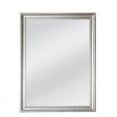 Καθρέφτης Τοίχου Ξύλινος Ασημί Frame Liberta 60x3x80υψ 11-0121