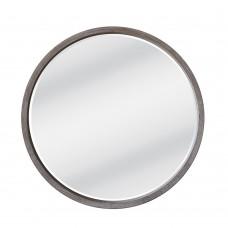 Καθρέφτης Τοίχου Ξύλινος Στρογγυλός Sonoma Αντικέ Circle Liberta Φ62εκ 11-0151