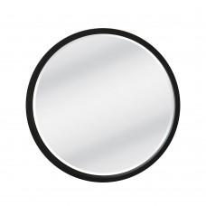 Καθρέφτης Τοίχου Ξύλινος Στρογγυλός Μαύρο Circle Liberta Φ62εκ 11-0152