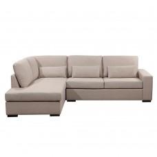 Καναπές Γωνία Αριστερή Divo Χρώμα Σπαγγί 165-7 240x170x83υψ Liberta 01-2047