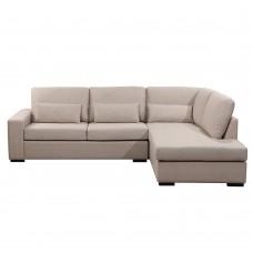 Καναπές Γωνία Δεξιά Divo Χρώμα Σπαγγί 165-7 240x170x83υψ Liberta 01-2049