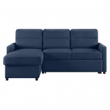 Καναπές - Κρεβάτι Γωνία Tucan Μπλε 213x148x93υψ Liberta 01-2092