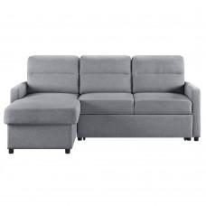 Καναπές - Κρεβάτι Γωνία Tucan Γκρι 213x148x93υψ Liberta 01-2093