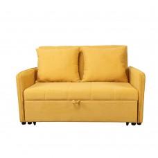 Καναπές - Κρεβάτι Διθέσιος Κίτρινο Pocket Liberta 134x101x82,5υψ 01-2133
