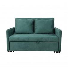 Καναπές - Κρεβάτι Διθέσιος Πετρόλ Pocket Liberta 134x101x82,5υψ 01-2134