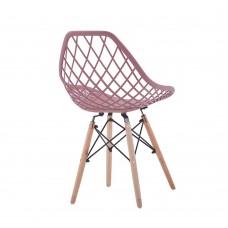 Καρέκλα ΡΡ Ροζ Χρώμα Tree Liberta 49x53x81,5εκ 03-0674