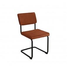 Καρέκλα Κοτλέ - Μέταλλο Rust Red Marsel Liberta 46x59x86υψ 03-0678