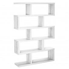 Βιβιοθήκη Λευκό System Liberta 120x29x179υψ 24-0364