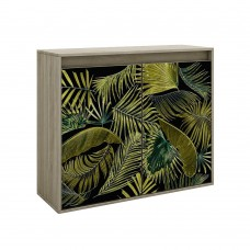 Κομότα - Παπουτσοθήκη 2 Πόρτες Sonoma Σκούρο Jungle Liberta 101,2x40x84υψ 05-0449