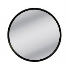 Καθρέφτης Τοίχου Στρογγυλός Μαύρο Tondo Liberta Φ80εκ 11-0261