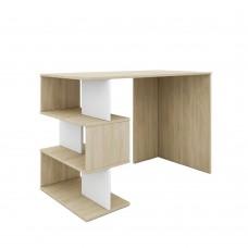 Γραφείο Sonoma - Λεύκο Zig Zag/Clic Liberta 110x55x75υψ 24-0498
