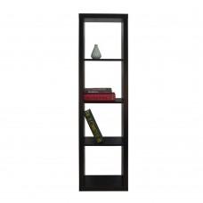 Βιβλιοθήκη Mαύρο Kivos 41,6 Liberta 41,6x29,5x147,5υψ 24-0557