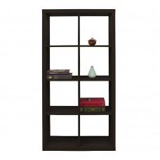 Βιβλιοθήκη Mαύρο Kivos 77 Liberta 77x29,5x147,5υψ 24-0558