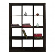Βιβλιοθήκη Mαύρο Kivos 112,2 Liberta 112,2x29,5x147,5υψ 24-0559